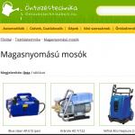 magasnyomású mosó webáruház